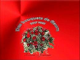 diaporama pps Bouquet de fleurs pour vous
