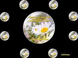 diaporama pps Bulles magiques de fleurs