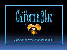 diaporama pps California blue