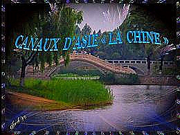 diaporama pps Canaux d'Asie la Chine