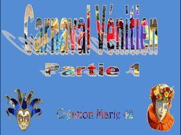 diaporama pps Carnaval vénitien partie 1