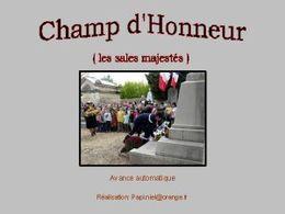 diaporama pps Champ d'honneur