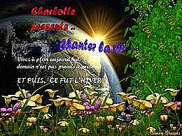 diaporama pps Chanter la vie