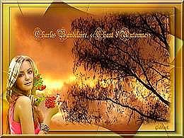 diaporama pps Charles Baudelaire – Chant d'automne
