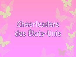 diaporama pps Cheerleaders des Etats-Unis