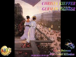 diaporama pps Christa Kieffer german painter