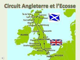 diaporama pps Circuit Angleterre et l'Ecosse