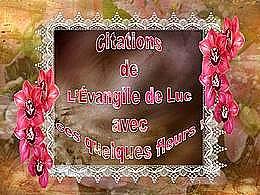 diaporama pps Citations bibliques et fleurs