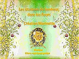 diaporama pps Citations de bonheur dans les fleurs