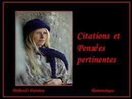diaporama pps Citations et pensées