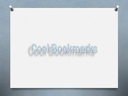diaporama pps Cool Bookmarks