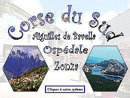 diaporama pps Corse du sud Bavella