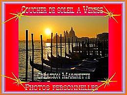 diaporama pps Coucher de soleil à Venise