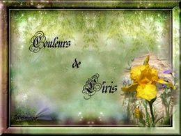 diaporama pps Couleurs de l'iris