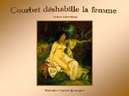 diaporama pps Courbet déshabille la femme