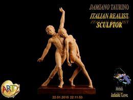diaporama pps Damiano Taurino 1949 italian realist sculptor