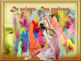 diaporama pps De Colores – Des couleurs