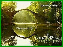 diaporama pps De magnifiques ponts