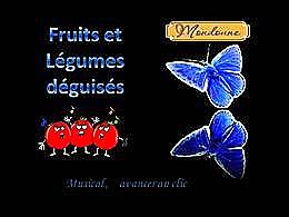diaporama pps Déguisements des fruits et légumes