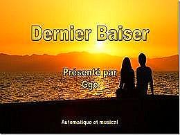 diaporama pps Dernier baiser – La fin de l'été