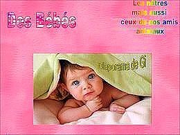 diaporama pps Des bébés