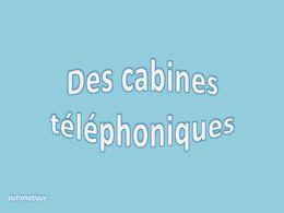 diaporama pps Des cabines téléphoniques