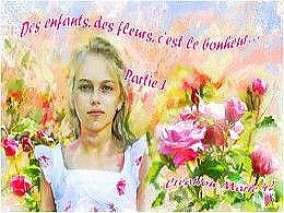 diaporama pps Des enfants des fleurs partie 1