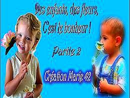 diaporama pps Des enfants des fleurs partie 2