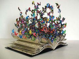 diaporama pps Des livres sculptures