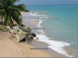 diaporama pps Des plages pas comme les autres