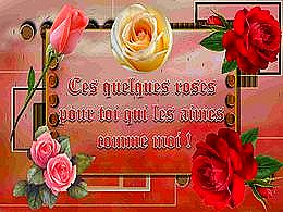 diaporama pps Des roses pour toi qui les aimes
