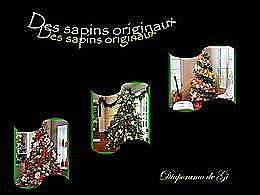 diaporama pps Des sapins originaux