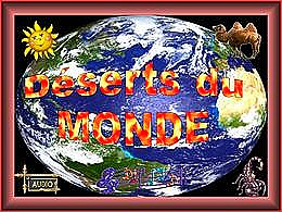 diaporama pps Déserts du monde