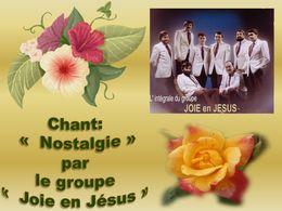 diaporama pps Nostalgie Joie en Jesus