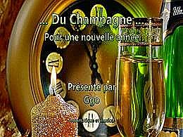 diaporama pps Champagne pour une nouvelle année