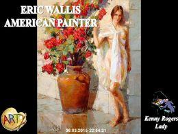 diaporama pps Eric Wallis American Painter