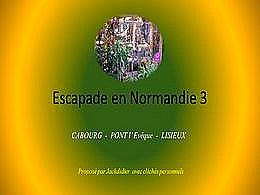 diaporama pps Escapade en Normandie 3