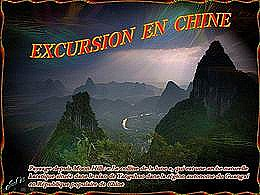 diaporama pps Excursion en Chine
