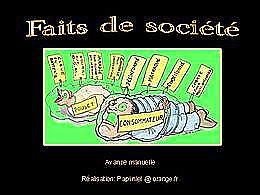 diaporama pps Faits de société