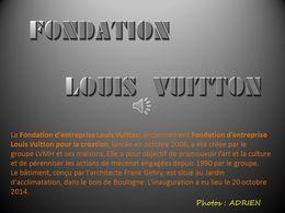 diaporama pps Fondation Louis Vuitton