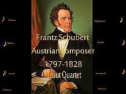 diaporama pps Franz Schubert