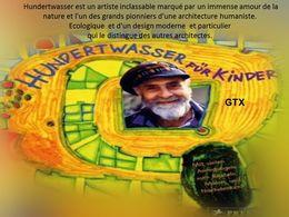 diaporama pps Friedensreich Hundertwasser Architecte
