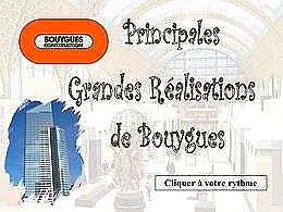 diaporama pps Grandes réalisations de Bouygues