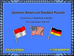 diaporama pps German american Steuben parade à New-York