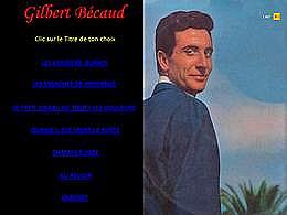 diaporama pps Gilbert Bécaud II