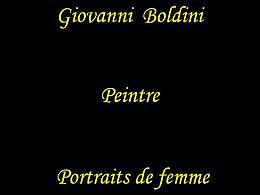diaporama pps Giovani Boldini