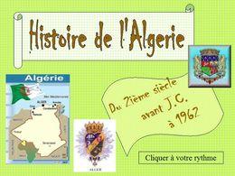 diaporama pps Histoire de l'Algérie