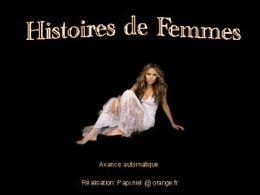 diaporama pps Histoires de femmes