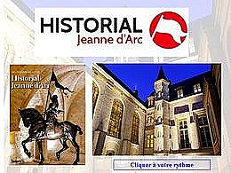 diaporama pps Historial Jeanne d'Arc Rouen