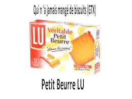 diaporama pps Historique biscuit petit beurre